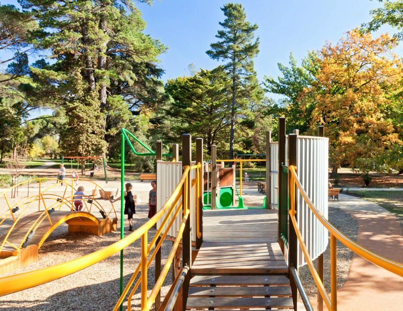 Castlemaine playspace
