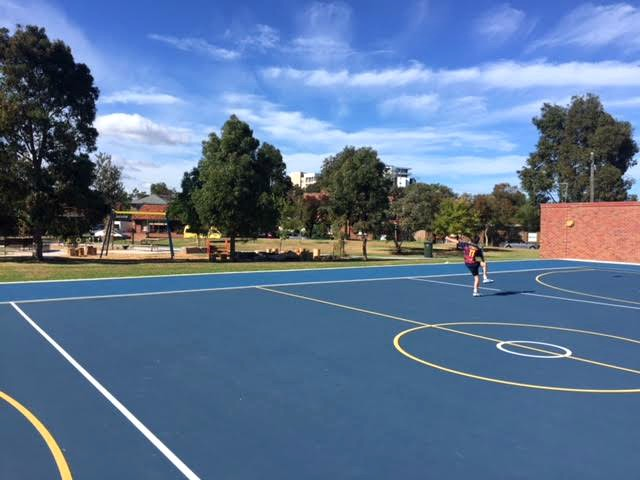 rf julier reserve basketball court